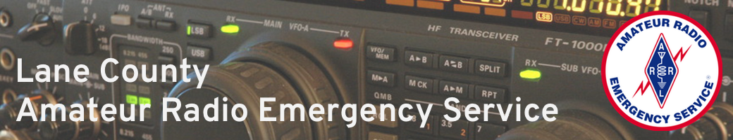 Lane County Amateur Radio Emergency Service